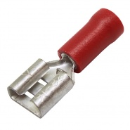 Durite Red 6.30mm Push-On Automotive Crimp Terminal | Re: 0-001-09