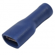 Pack of Durite Coloured Crimp Terminal 6.30mm Insulated Blue