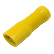 Pack of Durite Coloured Crimp Terminal 6.30mm Insulated Yellow
