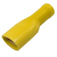 Durite Yellow 9.50mm Insulated Auto Crimp Terminal | Re: 0-001-47