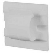 0-004-81 Pack of 25 White Adhesive Backed Nylon Cable Clips