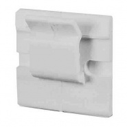 0-004-82 Pack of 25 White Adhesive Backed Nylon Cable Clips