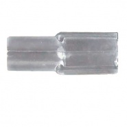 0-005-19 Pack of 50 4.80mm Clear Terminal Insulators