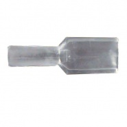 0-005-21 Pack of 50 6.30mm Clear Terminal Insulators