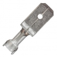 0-005-27 Pack of 50 6.30mm Blade Male Terminal 0.50mm² to 2.00mm²