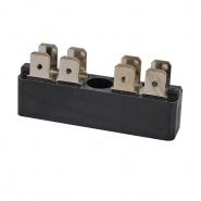 0-005-52 Durite 2 x 4 Way Terminal Block 25A