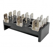 0-005-53 Durite 3 x 6 Way Terminal Block 25A
