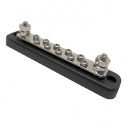 0-005-55 Busbar 150A with ABS Insulated Base