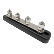 0-005-56 Busbar 150A with ABS Insulated Base