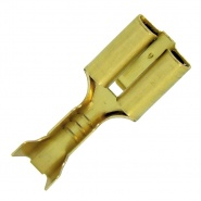 6.3mm Push-On Female Blade Terminals to 1.00mm² | Re: 0-011-23