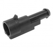 0-011-51 Superseal Connector 1.5mm Male Blade Pin Housing 1 Way