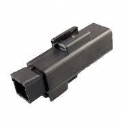 0-012-01 High Current Black Connector 1 Way 75A