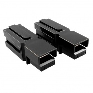 0-014-51 Pair of High Current Black Connectors 1 Way 75A