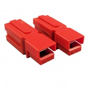 0-014-55 Pair of High Current Red Connectors 1 Way 75A