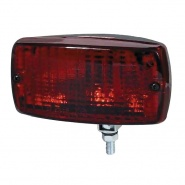 0-064-02 Rectangle Rear Fog Lamp with Adjustable Fixing Bolt