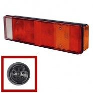 0-072-02 Right Hand Commercial Rear Lamp with Schlemmer Connector