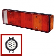 0-072-10 Right Hand Commercial Rear Lamp for Iveco