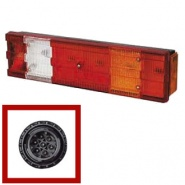 0-074-00 Right Hand Commercial Rear Lamp