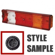 0-074-01 Left Hand Commercial Rear Lamp
