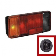 0-076-01 Left Hand Commercial Rear Lamp with Reverse Light
