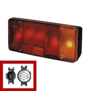0-077-00 Right Hand Commercial Rear Lamp for Iveco Eurocargo