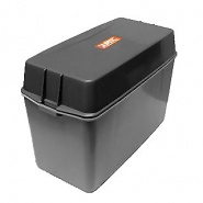 0-087-50 Grey Moulded Plastic Standard Battery Box