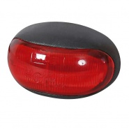 0-170-25 12V-24V LED Red Rear Marker Lamp with Leads