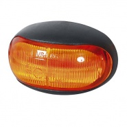 0-170-30 12V-24V LED Amber Side Marker Lamp with Leads