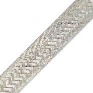 0-189-00 10m x 24mm Wide Flat Tinned Copper Braid 100A