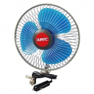 0-210-62 In Vehicle 12V 8 Inch Oscillating Fan