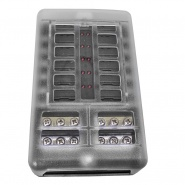 0-234-82 Durite 12 Way LED Fuse Box And Bus Bar - 32V Max.
