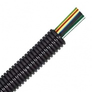 0-330-10 50m Roll Nylon Heavy-Duty Convoluted Un-split Tubing 10NW