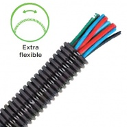 Durite Extra Flexible Convoluted Un-split Tubing 22NW | Re: 0-330-55