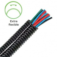 Durite Extra Flexible Convoluted Split Tubing 17NW | Re: 0-331-51