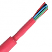 1 Metre Coil 25.4mm ID Red Heat Shrink Tubing | Re: 0-333-75