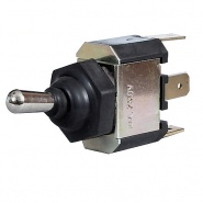 0-349-40 Splash-Proof Changeover or On-Off-On Single Pole Switch 10A