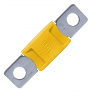 0-366-10 Durite Aftermarket Yellow Mega Type Fuse - 100A