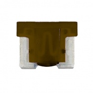 0-371-07 Pack of 10 Durite 7.5A Low Profile Mini Blade Fuse Brown