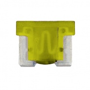 0-371-20 Pack of 10 Durite 20A Low Profile Mini Blade Fuse Yellow
