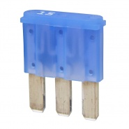 0-371-65 Durite Single 15A Micro 3 Blade Blue Fuse