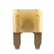 Durite 25A Neutral Mini Blade or Spade Automotive Fuse | Re: 0-372-25
