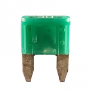 Durite 30A Green Mini Blade or Spade Automotive Fuse | Re: 0-372-30