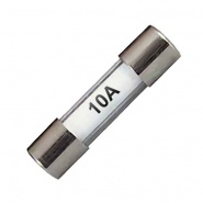 0-373-10 Pack of 10 20mm Radio Glass Fuses 10A