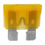 0-375-20 Pack of 10 Durite 20A Standard Automotive Blade Fuse Yellow