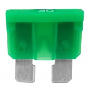 0-375-30 Pack of 10 Durite 30A Standard Automotive Blade Fuse Green