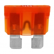 0-375-40 Pack of 10 Durite 40A Standard Automotive Blade Fuse Orange