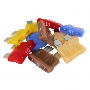 0-375-50 Pack of 10 Assorted Standard Auto Blade Fuses