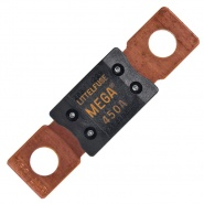 0-376-45 Dark Yellow Mega Type Fuse 450A