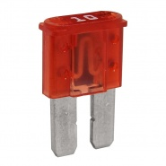 0-376-70 Pack of 10 Durite 10A Micro 2 Blade Fuse Red