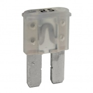 Durite 25A White Micro 2 Automotive Blade Fuse | Re: 0-376-82